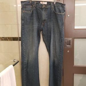 Levi's 514 slim straight jeans 38x32